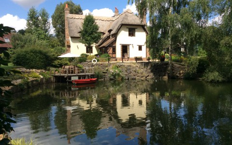 Thatched cottage bed and breakfast
